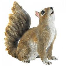 Bushy Tail Squirrel Garden Decor
