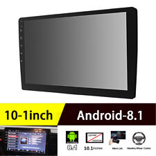 "Double Din Touch Screen Car Stereo Android 8.1 10.1"" HD 1080P In-dash Radio Unit"