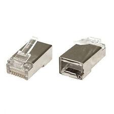10x Connettore RJ45 TOUGH Cable Ubiquiti LAN ETHERNET FTP CAVO LAN SCHERMATO