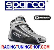 SPARCO RACE SHOES BOOTS FIA FORMULA + SL 8 GRAu FIA 8856-2000 RACING SCHUHE eu40