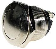 12v interruptor de botón momentáneo (en) - OFF SPST auto ignición cuerno de comienzo del motor