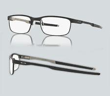 28353414c4e New Oakley OX 3222 STEEL PLATE 322202 Powder Cement Eyeglasses