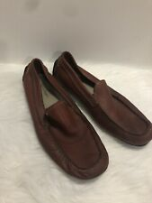 Rockport Men's Leather Loafer Slip On Shoes,Size 11W, Brown W05