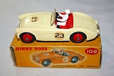 Dinky 109 Austin Healey (Competition), Superb,VNM in Original Box