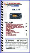 NIFTY MM-IC718 IC-718 Nifty! Quick Reference Guide