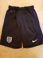 Men's Nike England blue navy dri fit gym training Shorts Football Soccer size XL