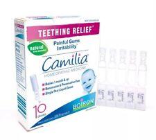 Camilia Boiron bébé dentition relief - 10 doses uniques-UK Stock