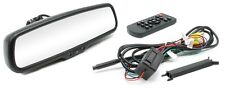 "NEW!! Rostra 250-8208 Backup Camera Rearview Mirror w/DUAL INPUTS & 4.3"" Display"