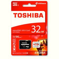 Toshiba 32GB microSD HC tarjeta de memoria clase 10 Exceria