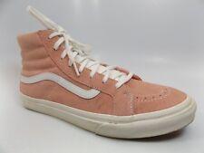 Vans Women's Sneaker SK8 Hi Top All PINK Suede Skate Fashion SZ 11.0 M   D6816