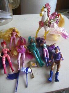 Lot Princesse Starla et les Joyaux magiques Kenner 1995