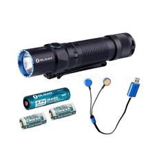 Olight M2T Warrior 1200 Lumen LED Flashlight, 1x 2600mAh Battery, USB Charger