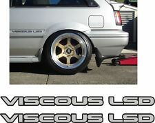 Nissan Sunny Gti N13 Viscous LSD DSide Decals Stickers any colours
