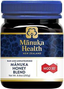 Manuka Health - MGO 30+ Manuka Honey Blend, 100% Pure New Zealand Honey, 8.8 Oz