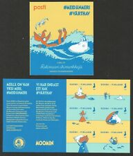 FINLAND 2020 THE SEA CARTOON MOOMINS BOOKLET OF 6 STAMPS IN MINT MNH UNUSED