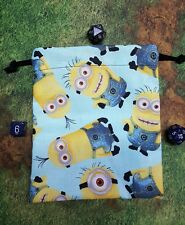 Minions dice bag, card bag, makeup bag