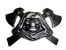Grim Reaper Belt Buckle Made in Italy