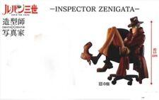 Lupin 3rd Creador X Creator Inspector Zenigata Variante Color PVC Figura