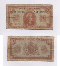 BILLET PAYS BAS 1 GULDEN  1949 ~  OLD BANKNOTE NEDERLAND ~ BILLETE BANCONOTA