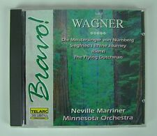 Wagner: Overtures & Preludes (Flying Dutchman, Rienzi, etc.)~ Minnesota/Marriner