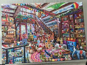 ravensburger 1000 piece jigsaw puzzles used 'Fantasy Toyshop'