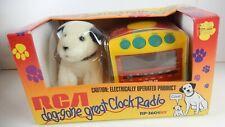 Vintage RCA Dog-Gone Great Clock Radio  RP-3601K9 AM/FM Snooze 1996 NEW