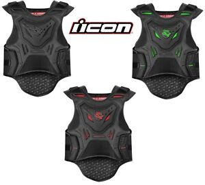 ICON Field Armor Stryker Motorcycle Vest - Choose Size / Color