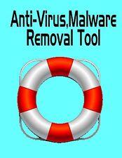 Computer Anti-Virus Removal Rescue Download Tool,Clean,Repair,Trojans,Malware