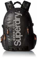 Superdry Mega Ripstop Tarp Backpack, Black Ripstop, One Size