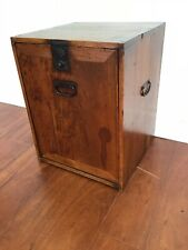 Distressed look Chinese storage box/Side cupboard