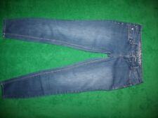 Women's Express Skinny Blue Jeans Low Rise Cotton Blend Size 2