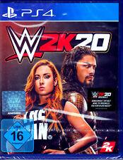 WWE 2K20 PS4 Spiel (Wrestling, Sport)NEU