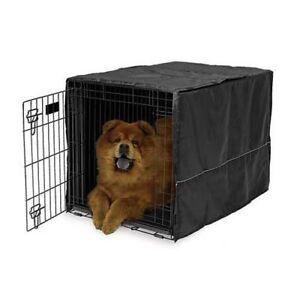 """Midwest Quiet Time Pet Crate Cover Black 36"""" x 23.5"""" x 24"""" CVR-36"""