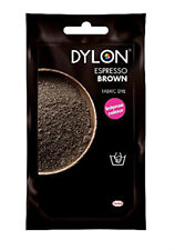 Dylon 50g Espresso Brown Hand Dye