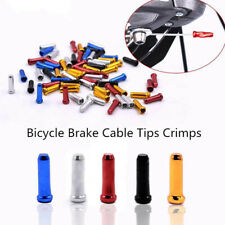 50pcs MTB Bike Cycle Parts Brake Wire End Core Cap Cable Aluminum Cover Gear