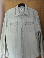 Levi denim shirt XL