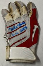 MIKE LOWELL GAME USED AUTOGRAPHED SIGNED 2009 BATTING GLOVE BOSTON RED SOX