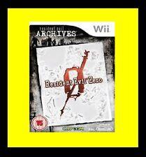 Resident Evil 0 Archives: Zero Nintendo Wii PAL Brand New