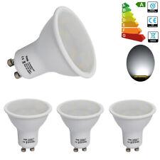4x GU10 4W SMD LED Bulbs Lamp Day White Reflector Light Wide Beam 35-50watt A++