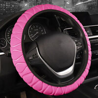 Anti-skid Car Steering Wheel Cover For Four Seasons Pink Decoration Accessories