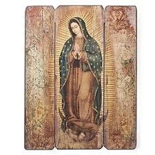 "17""H Our Lady of Guadalupe Plaque MDF Decorative Panel Joseph's Studio # 66421"