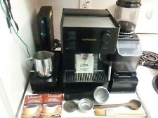 Espresso Machine + Coffee Grinder +Metal Storage Base + More. All Saeco Italian