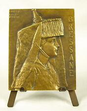 Médaille coiffe bressane Armes de Bourg en Bresse Lycée Pasteur F Vincens Medal