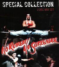 No Retreat No Surrender Box Set Van Damme DVD 3 MOVIES Kung Fu Classics New