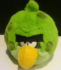 "Angry Birds Space Green  5"" PLUSH TOY with sound"