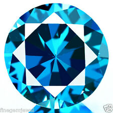 0.15ct WOW NATURAL SPARKLING FINE CLEAN BEST BRIGHT BLUE DIAMOND EARTH MINED!