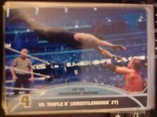 2013 Topps Best of WWE Top Ten Undertaker Matches #4 Vs. Triple H
