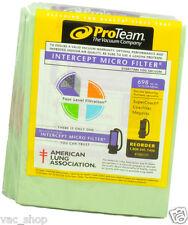 * 100331 Proteam Genuine Super Coachvac Backpack 10pk Vacuum 10 Quart Bags