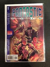 Fantastic Four Mangaverse #1 2002 VF/NM- 1er Imprimé Marvel Bande-dessinée