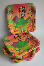 Hawaiian Girl,Tray,Dish,Luau Party,Tiki Bar, Beach,Tableware, Hawaii
